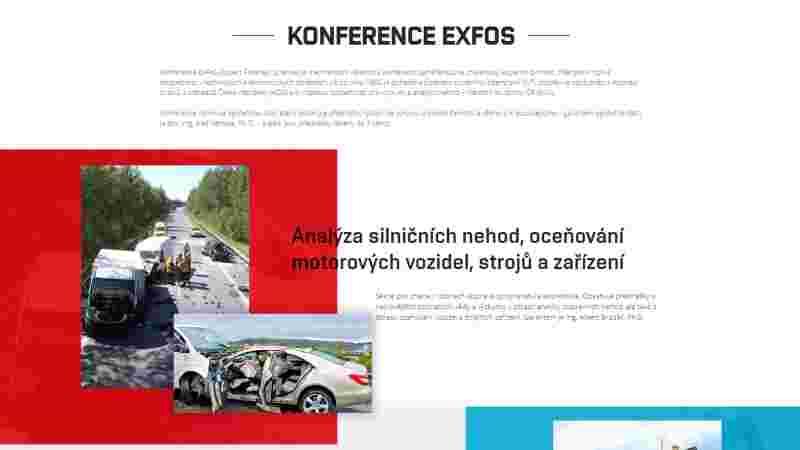 náhled stránky - exfos.cz