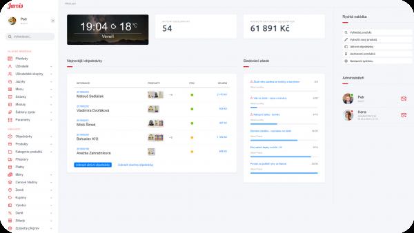 Digilabs.cz eCommerce platforma - administrace